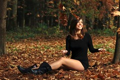 42-50549740 (boodiebembra) Tags: autumn people playing blur beauty fashion female forest woodland fun outdoors one leaf clothing women europe sitting seasons dress adult boots joy fulllength longhair croatia happiness zagreb footwear daytime brunette youngadult playful carefree enjoyment naturalworld easterneurope throwing oneperson frontview darkhair selectivefocus minidress 20sadult youngadultwoman balkanstates caucasianethnicity 2024years 50549740 4250549740