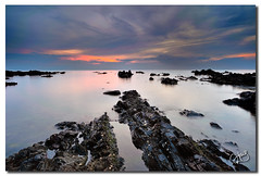 Sunrise at Pandak Dalam (hans_cryptonian) Tags: seascape sunrise malaysia slowshutter terengganu waterscape pantaipandak visitmalaysia2014