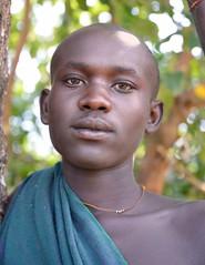 Suri Tribe, Kibish (Rod Waddington) Tags: africa boy portrait valley ethiopia tribe ethiopian omo suri kibish