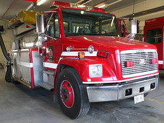 Brampton Fire Tanker 209 (Canadian Emergency Buff) Tags: ontario canada water fire emergency 209 tender bfd tanker services brampton dependable freightliner bfes fl80 wt209