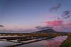 Sunset in the Salinas (Alessandro Vecchi) Tags: pink sunset sea italy water europa europe italia tramonto mare sale salt rosa sicily acqua saline sicilia salina erice trapani windmil mulini saltevaporationpond
