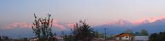 Ultimos rayos sobre la cordillera (M. Branchet) Tags: chile sunset panorama america atardecer andes sur cordillera montaas