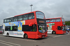 (Will Swain) Tags: uk travel bus buses june scotland day open dundee britain garage north transport national depot express 14th northern 2014 nx nxd