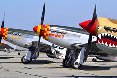 DSC_0545 (Stephen S...) Tags: world 2 vintage airplane war aircraft aviation historic airshow ww2 mustang warbirds chino p51