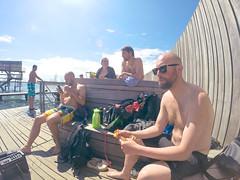 Jumps p sneglen (magnifik) Tags: hero kbenhavn amb amager badning gopro sneglen
