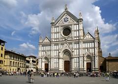 Florenz, Piazza Santa Croce, Basilica di Santa Croce (HEN-Magonza) Tags: italien italy florence italia tuscany firenze toscana florenz toskana piazzasantacroce basilicadisantacroce