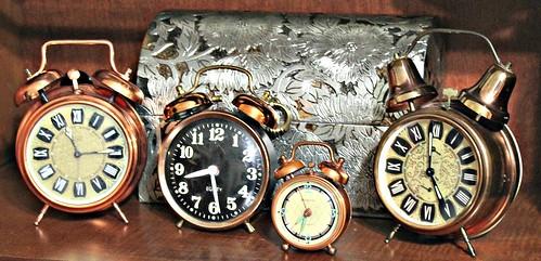 alarm clock vintage copper vintageclocks copperalarmclocksvintage