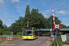 Qbuzz in de regio (Maurits van den Toorn) Tags: bus mercedes utrecht omnibus railwaycrossing stadsbus maartensdijk spoorwegovergang citaro streekbus ahob qbuzz