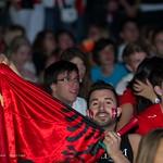 Fans de foot - Lausanne, Fan zone Bellerive - Coupe du Monde 2014 - Durant le match Suisse - Honduras thumbnail