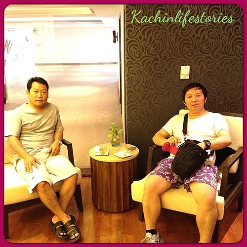 at the spa room in Hua Hin. #kachinlifestories #spa #thailand
