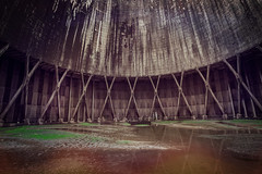Cooling tower (TouTouke - Nightfox) Tags: chimney sky plant tower industry ecology concrete energy factory technology power belgium interior smoke pipe nuclear steam pollution electricity environment inside coal thermal cooling kluisbergen ruien
