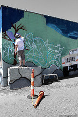 Hide Graffiti (Snake Oil Magazine) Tags: ohio graffiti cleveland hide vandalism dfw spraypaint snakeoil htm hometeam gargantuen
