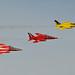 Gnat Display Team - RAF Waddington. 05-7-2014