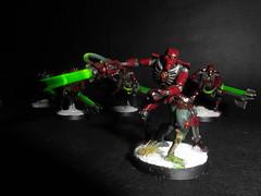 Necron Warrior Squad (NecronOverlord) Tags: 40k warhammer warrior necron