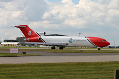G-OSRA B.727-2S2F Oil Spill Response (ChrisChen76) Tags: uk waddington b727 oilspillresponse b7272s2f