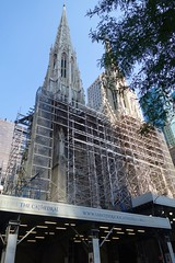 Restoration of Saint Patrick's Cathedral in NYC (The Flying Inn) Tags: street nyc ny newyork church saint st catholic cathedral manhattan sony patrick restoration patricks 51stst 51st 51ststreet 28100mm f1849