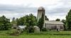 Barn in South Deerfield, MA (debbie rittall) Tags: barn driveby silo southdeerfieldma
