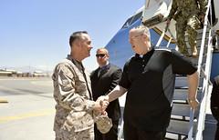 140622-D-NI589-878 (OSD Deputy Secretary of Defense) Tags: usa afghanistan us kabul june22 2014dodphotobyglennfawcettreleased deputysecretaryofdefensebobworkarrivesinkabul