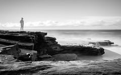fadeout (eanwe) Tags: ocean longexposure sky water rock clouds waves photographer objects australia newsouthwales maroubra