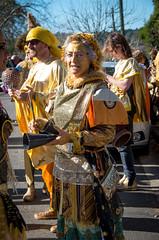 Before the Grand Parade, Winter Magic Festival 2014 (elpolodiablo) Tags: blue winter people mountains festival pentax magic parade solstice da katoomba k5 iis 2014 18250