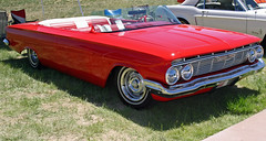1961 Chevrolet Impala Roadster Street Rod (coconv) Tags: pictures auto street old red hot classic cars chevrolet car vintage photo automobile image photos antique picture convertible images vehicles photographs chevy photograph vehicle rod autos collectible custom collectors impala automobiles 1961 61 roadster blart