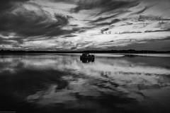 #64 (Sharon Covert) Tags: sunset sky blackandwhite clouds boat nj belmar jerseyshore belmarmarina