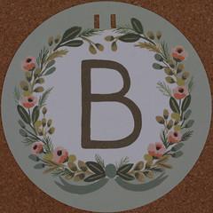Garland Letter B (Leo Reynolds) Tags: b garland letter squaredcircle oneletter bbb letterset grouponeletter xsquarex xleol30x sqset107 xxx2014xxx