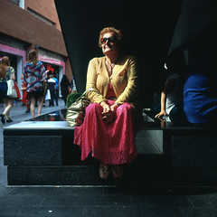Watching (polarisandy) Tags: portrait england people colour film rolleiflex liverpool mediumformat square aperture flickr unitedkingdom north 66 squareformat fujifilm analogue merseyside environmentalportrait 35f colourcorrected frankeheidecke synchrocompur fujivelviarvp100 polarisandy epsonv600 aperture3 colouruncorrected wwwpolarisandycom andrewmcalea mcalea