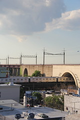IMG_3533 (GojiMet86) Tags: new york city nyc subway astoria mta 2008 blvd bmt ditmars 8864 8865 8866 r160b
