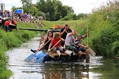 Crazy Raft Race _ 042 (lens buddy) Tags: uk england wet somerset rafting raft watersports fancydress cameraclub summergames langport thorney canoneosdigital crazyrafting lowlandgames2014