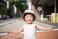 My niece (Taipei street life) Tags: family holiday love smile happy kid mood child joy