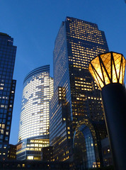 Buildings Near Battery Park at Night (foregorp) Tags: night buildings lights lowermanhattan