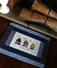 TaPeTe (DoNa BoRbOlEtA. pAtCh) Tags: handmade application patchwork tapete applique cozinha aplicao quiltlivre bordadomo donaborboletapatchwork denyfonseca