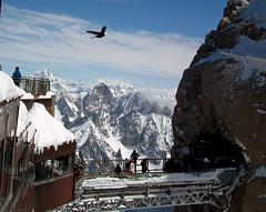 Aiguille du Midi Mont Blanc (DHHphotos) Tags: fuji finepix chamonix montblanc aiguille hs10 aiguilledumidimontblanc