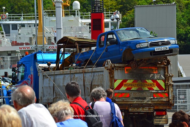 cars truck scotland motors vehicles lorry scrap rothesay isleofbute mazdapickup