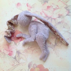 bunny (in work) (AlexEdg) Tags: bunny toy teddy handmade 2014 alexedg alledges