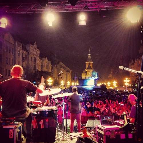 A recap from the euro tour so far... This is a shot from show number 1 in Timisoara, Romania. #tcedoeuro #andietheroadie