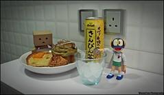 IMG_7331 (WovenTam) Tags: ice toys tea danbo perman danboard minidanboard