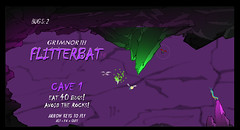 FLITTERBAT - The Video Game - Bat in Action! (Steve Greaves) Tags: uk game green art english animal bug insect video cool artwork purple action unity bat caterpillar entertainment dev indie british 2d development app barnsley angrybirds unity3d indiegame flappybird unity2d flitterbat
