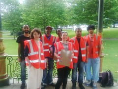 Community Monitors - Ready to Go at Simmer Down 2014