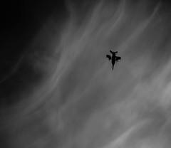 skydive (Rustybricko) Tags: monochrome silhouette clouds airshow cloudysky royalinternationalairtattoo fa18fsuperhornet riat2014