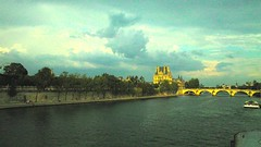 The Louvre-Sigma DP1 (Preskon) Tags: bridge people paris art nature seine architecture