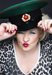 Abi Roberts ANGLICHANKA - coming to Greater Manchester Fringe 1-31 July 2017 (gmfringe) Tags: abiroberts anglichanka greatermanchesterfringe gmfringe england uk britain stage performance events entertainment what'son russia comedy englishwoman peakedcap hat july 2017 summer festival standup edinburgh gqmagazine