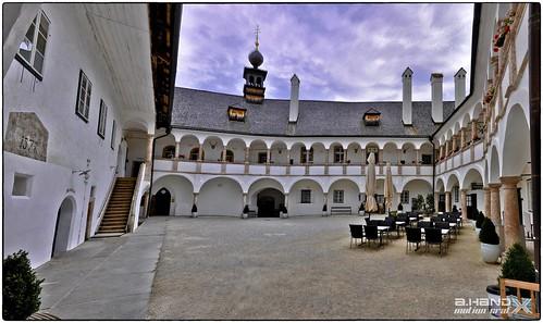 Gmunden -Schloß Ort - Innenhof