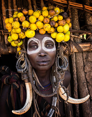 Etiopia (mokyphotography) Tags: etiopia southetiopia africa people portrait persone woman donna mursi ritratto tribù tribe tribal ethnicity etnia ethnicgroup valledellomo omovalley omoriver omo