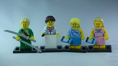 Brick Yourself Bespoke Custom Lego Figure Unique Pop Group