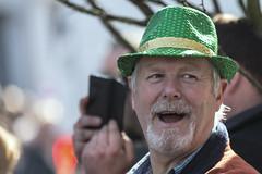 Happy man in a green hat (Frank Fullard) Tags: frankfullard fullard smile happy green hat stpatricksday beard irish ireland parade castlebar mayo mhaigheo festival festive heritage saint patron