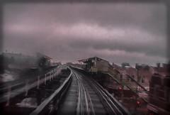 Chicago 8 1978 789-6 (johnrodden61053) Tags: clouds rain elevatedtrain el chicago blur