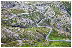 Photos from a trip to Norway by Cruise Ship. (Matthew.P.Wright) Tags: birdseyeview cold dalsnibba dalsnibbaviewpoint geiranger geology hairpinbend hairpins landscape loopimages mountainroad mountains norway rocks rugger snaking snakingroad strata travel twistyroad valley wild sunnmøre