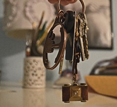 71/365, little things (nicastro_ashley) Tags: 365 365photo photography camera keychain littlethings simple antique trinket
